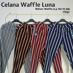 Celana Luna Salur Waffle